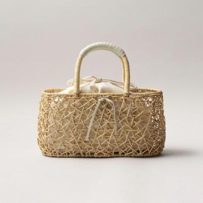 オデット エ オディール ODETTE E ODILE 【別注】The Bagmati Nest Basket (OFF WHITE)