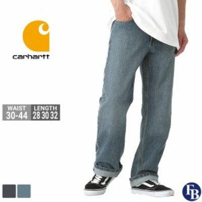 カーハート ジーンズ デニム リラックスフィット W30-W44 L28/30/32 Carhartt / ワークパンツ 作業着 大きいサイズ 定番アイテム