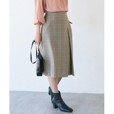 ViS / 【EASY CARE】ウォッシャブルフラノタイトスカート WOMEN スカート > スカート