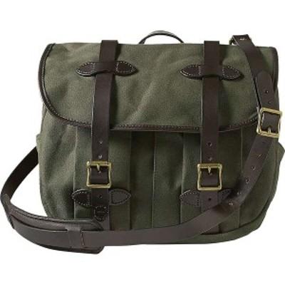 フィルソン メンズ ショルダーバッグ バッグ Filson Field Medium Bag Otter Green