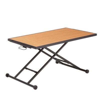 昇降式テーブル 高さ調節可能 リフティングテーブル センターテーブル リビングテーブル 完成品 テーブル KITE