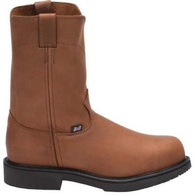 ジャスティン メンズ ブーツ・レインブーツ シューズ Cargo Steel Toe EH Pull On Boots