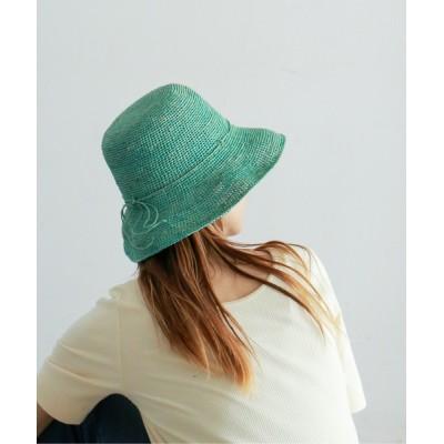 NOMBRE IMPAIR / 【Sasu ESCALE】カラーHAT WOMEN 帽子 > ハット