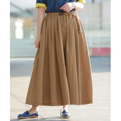 GRAMICCI × BEAMS BOY / 別注 プールナイロン ロング スカート