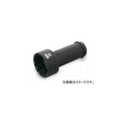 """トネ/TONE 25.4mm(1"""") アンカーボルト用ソケット(12角) 品番:8AD-46L200"""