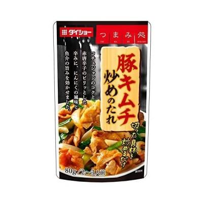 ダイショー 豚キムチ炒めの素 80g ×10個