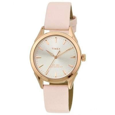 タイメックス 腕時計 レディースウォッチ Timex Women's Analog Dial Watch Silver