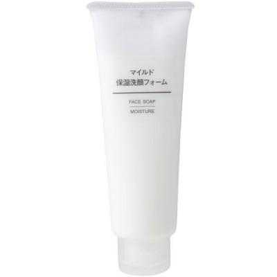 無印良品 マイルド保湿洗顔フォーム 120g 6461272 良品計画