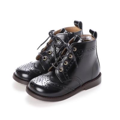 ヨースケ YOSUKE キッズアイテム[直営SHOP限定モデル]本革ブーツ (ブラック)