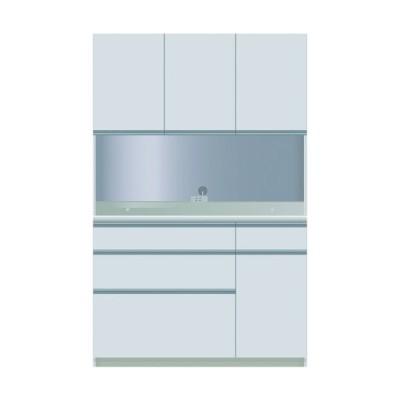 食器棚 キッチン収納 キッチンボード レンジ台 日本製 パモウナ ダイニングボード DZA-S 1200 R W (配送員設置)