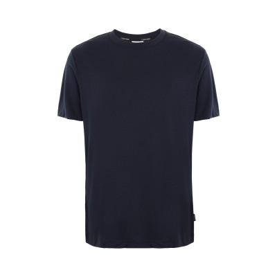 カルバン クライン CALVIN KLEIN T シャツ ダークブルー M コットン 100% T シャツ