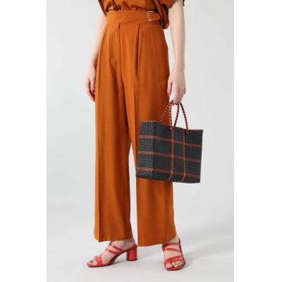 グルカ風パンツ オレンジ