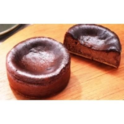 口いっぱい濃厚にとろける バスク風チョコレートチーズケーキ12cm
