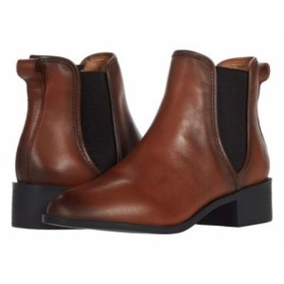 Steve Madden スティーブマデン レディース 女性用 シューズ 靴 ブーツ チェルシーブーツ アンクル Dares Boot Cognac【送料無料】
