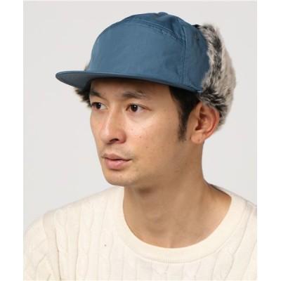 atmos pink / Basiquenti Nylon Flap Cap_RVU MEN 帽子 > キャップ