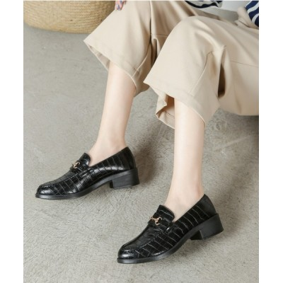 Shoes in Closet -シュークロ- / ビットモチーフ 超軽量 ローファー《約3.5cmヒール》 7636 WOMEN シューズ > ローファー