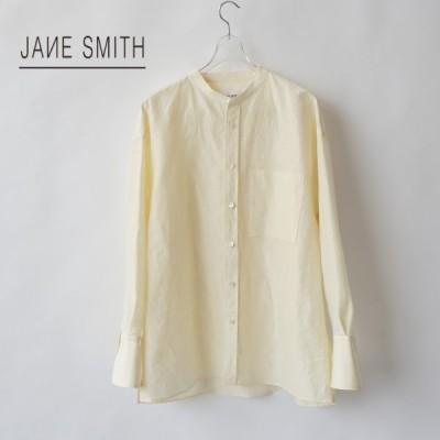 JANE SMITH|ジェーンスミス Banded Collor Shirts /21SSH-#608L