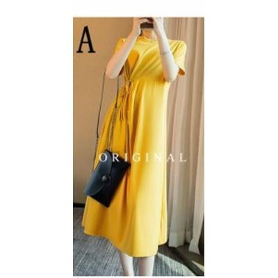 夏 新しい ファッション カジュアル ゆるい ドレス CZJB660