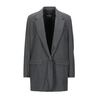 OTTOD'AME テーラードジャケット 鉛色 42 ポリエステル 68% / レーヨン 28% / ポリウレタン 4% テーラードジャケット