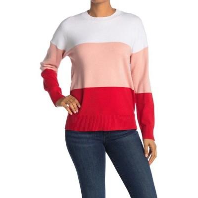 フレンチコネクション レディース ニット&セーター アウター Striped Crew Neck Sweater TRUE BLOSS