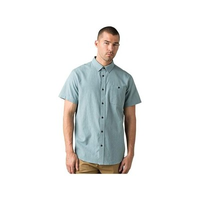 Prana Jaffra Short Sleeve Shirt メンズ シャツ トップス Breeze