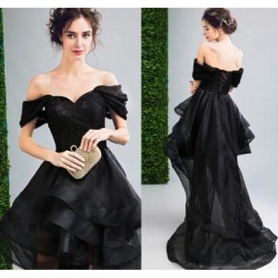 結婚式 お呼ばれドレス ワンピース 不規則 パーティードレス 二次会 ドレス ショート丈 発表会 20代 30代 40代 ローブデコルテ セクシー