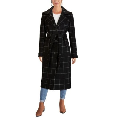 ジョーンズニューヨーク レディース コート アウター Single-Breasted Belted Maxi Coat