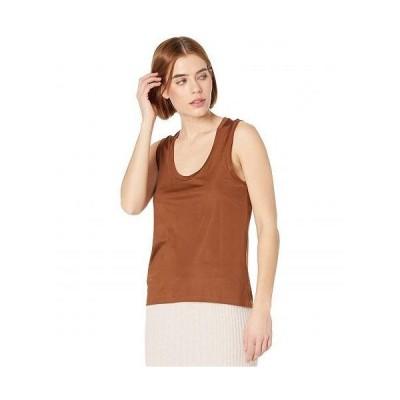 AllSaints レディース 女性用 ファッション トップス シャツ Tessa Cami - Foxtail Brown