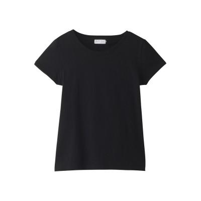 JET ジェット 【JET LOSANGELES】【ウォッシャブル】ベーシッククルーネックTシャツ レディース ブラック 04(M)