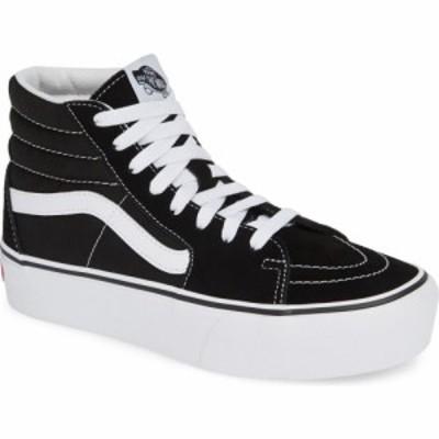 ヴァンズ VANS レディース スニーカー シューズ・靴 Sk8-Hi Platform Sneaker Black/True White