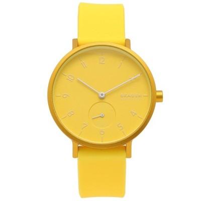 「P10%還元 5/9 20時〜24時」スカーゲン 腕時計 レディース メンズ SKAGEN SKW2820 イエロー