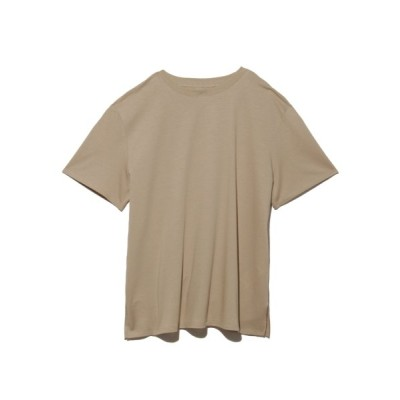 (Mila Owen/ミラオーウェン)ハイラインTシャツ/レディース BEG