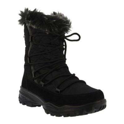 スプリングステップ Flexus by Spring Step レディース ブーツ シューズ・靴 Denilia Cold Weather Boot Black Nylon