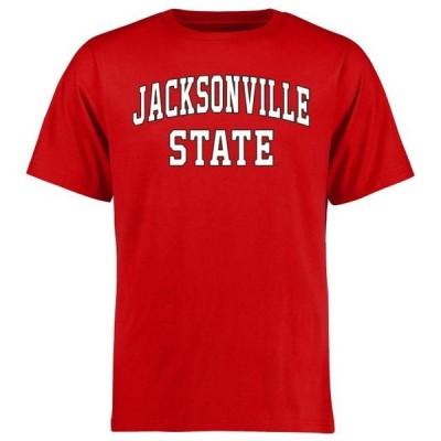 ユニセックス スポーツリーグ アメリカ大学スポーツ Jacksonville State Gamecocks Everyday T-Shirt - Red Tシャツ
