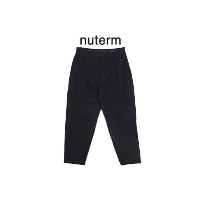 ニューターム nuterm テーパードワークトラウザー Tapered Work Trousers 001PT-019S 2019春夏 2019SS