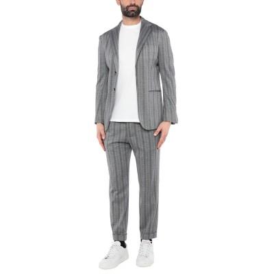 KITON スーツ グレー 56 コットン 48% / カシミヤ 36% / シルク 16% スーツ