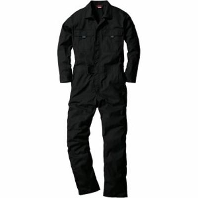 桑和(SOWA) 続服 4/ブラック S~LLサイズ 9300 【作業着 作業服 ワークウェア ウエア つなぎ メンズ レディース】