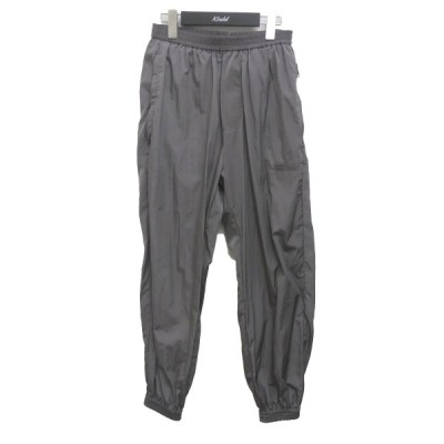 STUDIO NICHOLSON TECHNICAL PARACHUTE PACKABLE PANTS パラシュートパンツ グレー サイズ:S (梅田