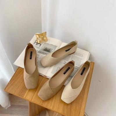 picknfit レディース フラット Jaming wrap suede flat shoes