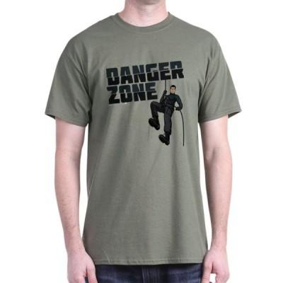 ユニセックス 衣類 トップス CafePress - Archer Danger Zone Dark T Shirt - 100% Cotton T-Shirt Tシャツ