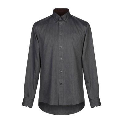 HARMONT&BLAINE シャツ グレー S コットン 100% シャツ