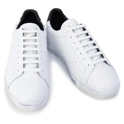 訳あり エンポリオアルマーニ EMPORIO ARMANI 靴 メンズ スニーカー ホワイト×ブラック(X4X316 XM500 N023 OPT.WHITE+BLK PRINT) 2020年秋冬