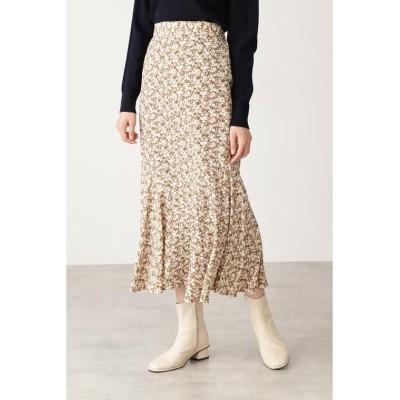 【エヌナチュラルビューティベーシック】 コバナペプラムロングスカート レディース ベージュベース1 M N.Natural Beauty Basic
