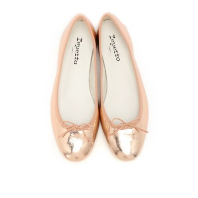 Repetto レペット/repetto サンドリオンメタリックピンク