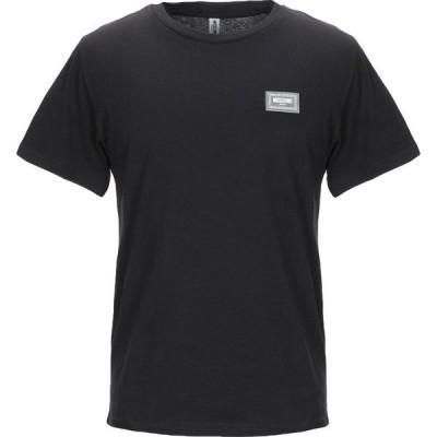 モスキーノ MOSCHINO メンズ Tシャツ トップス t-shirt Black