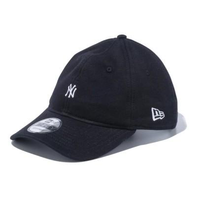 ニューエラ NEW ERA 9THIRTY スウェット ニューヨーク・ヤンキース ミニロゴ ブラック × スノーホワイト 56.8 - 60.6cm キャップ 帽子 日本正規品