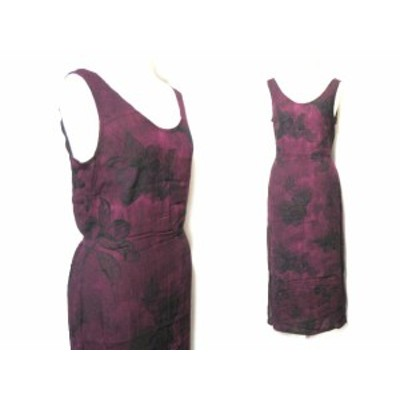 LOOK Fation「made in UK」オリエンタルワンピース (oriental one-piece) ドレス ルック ファッション 048850【中古】