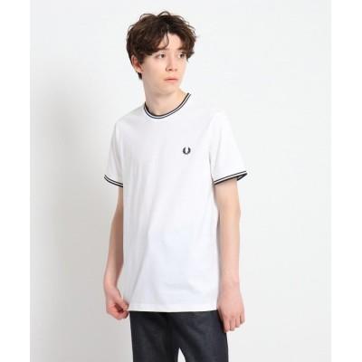 Dessin(Men)(デッサン(メンズ)) FRED PERRY 刺繍ティップラインTシャツ M1588