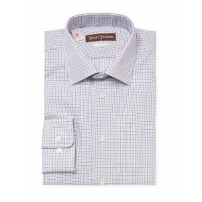ヒッキーフリーマン メンズ ドレスシャツ ワイシャツ Printed Classic Fit Dress Shirt
