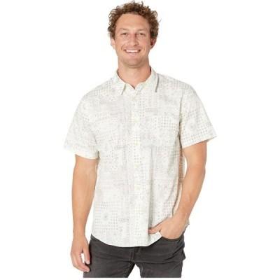 ラッキーブランド シャツ トップス メンズ Short Sleeve San Gabriel White Print